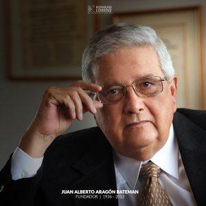 Juan Alberto Aragón Bateman Fundador Konrad Lorenz
