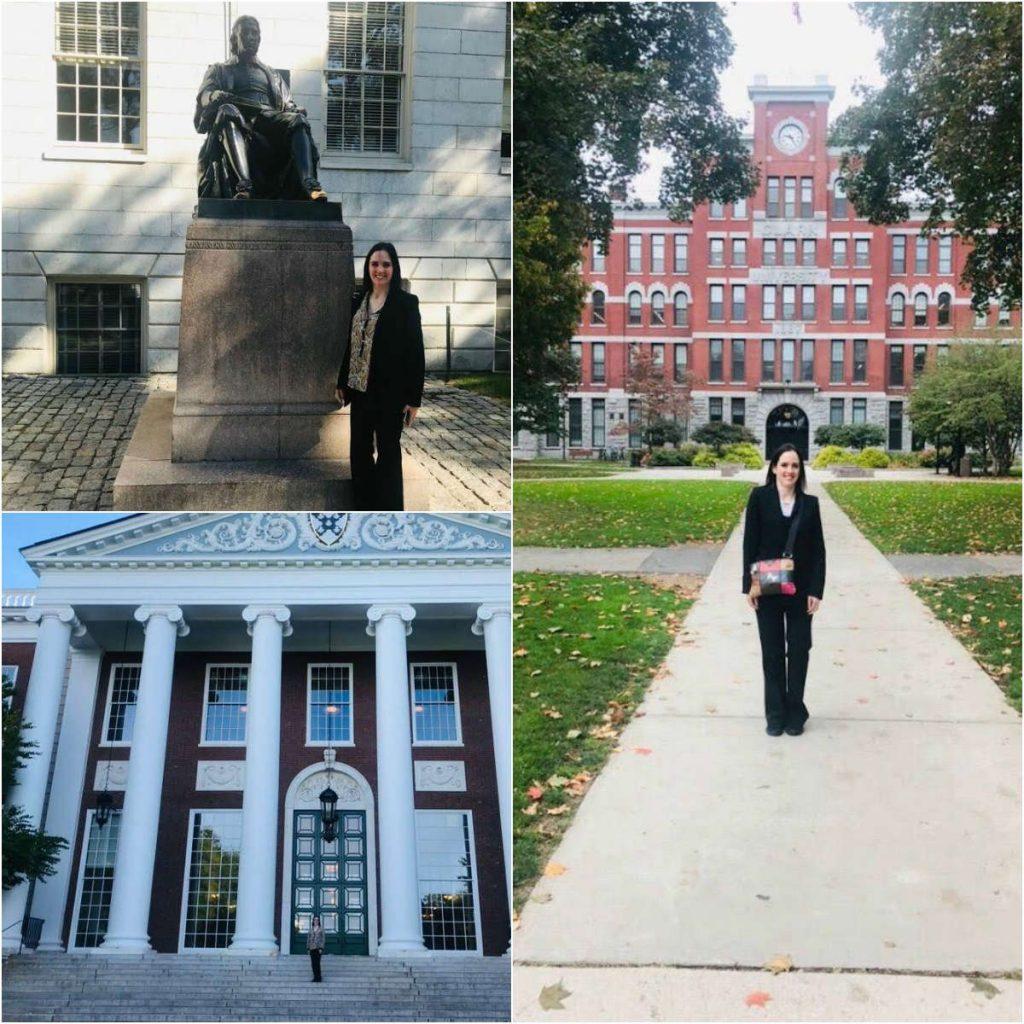 Investigadora konradista realizó clases compartidas en la Universidad de Harvard y la Universidad de Clark1